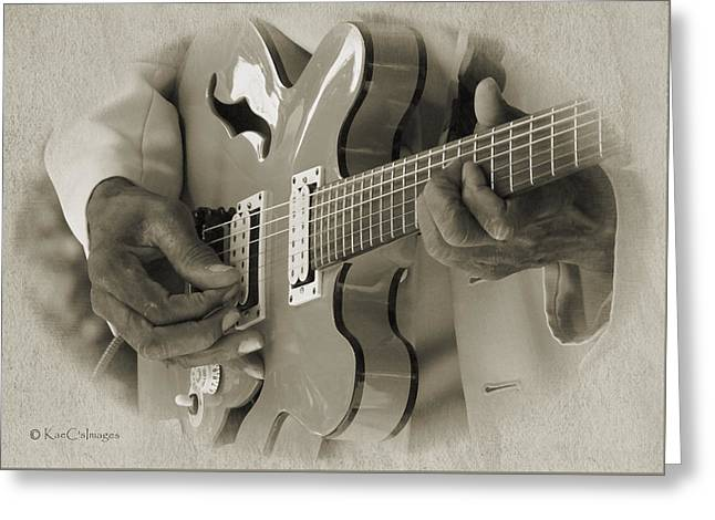 Finger Pickin' Good 2 Greeting Card by Kae Cheatham