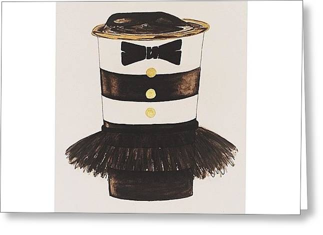 My #aliceandoliva #starbucks Painting Greeting Card by Kathryn  Prantl