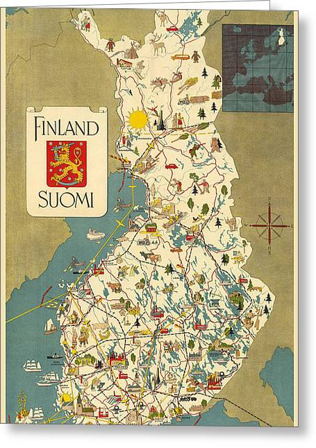 History Of Finland Greeting Cards Fine Art America