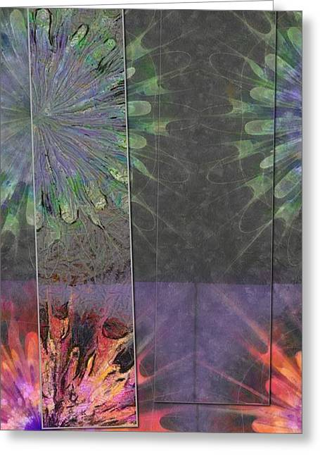 Finnier Truth Flowers  Id 16165-202841-14261 Greeting Card by S Lurk