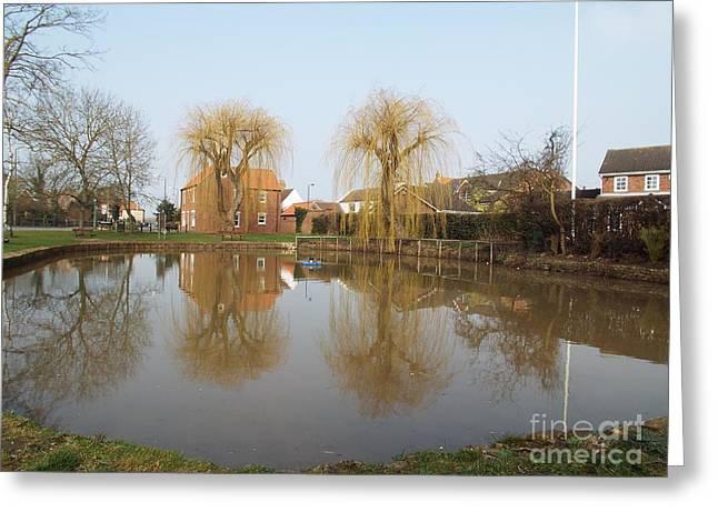 Finningley Pond Greeting Card
