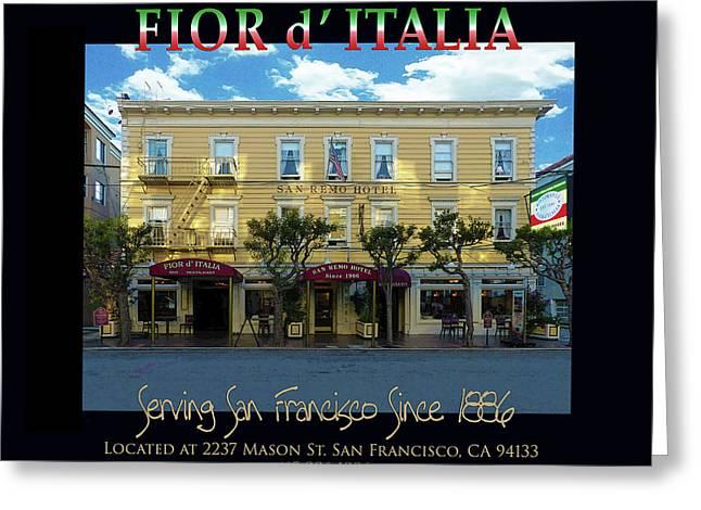 Fior D' Italia Since 1886 Greeting Card