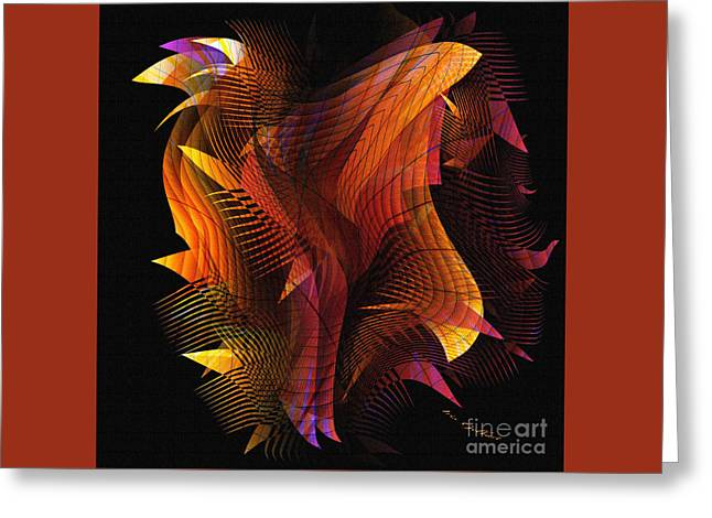 Fire Dance Greeting Card