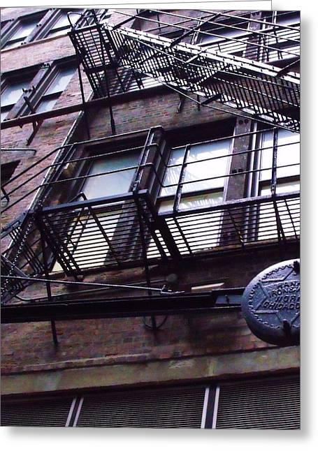 Fire Escape I Greeting Card