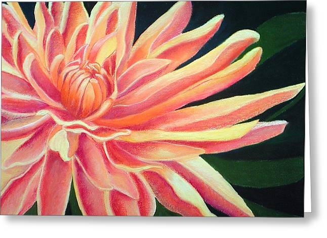 Fire Mum Greeting Card by Lucinda  Hansen