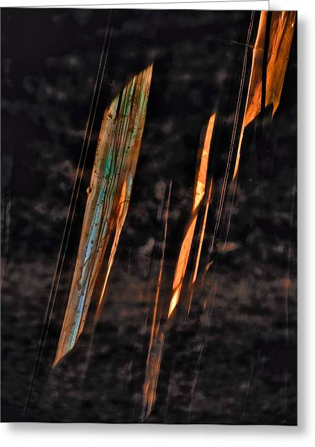 Fire Storm Greeting Card