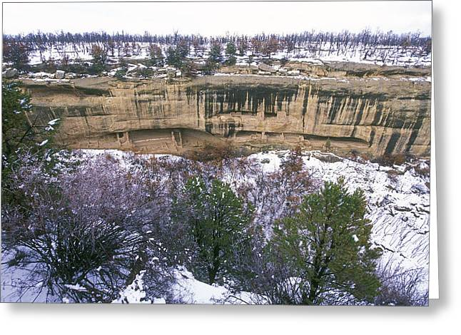 Colorado Fires Greeting Cards - Fire Temple And New Fire House Ruins Greeting Card by Rich Reid