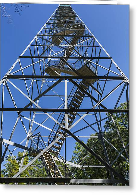 Fire Watch Tower Elba 2 Greeting Card