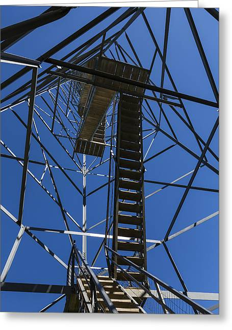 Fire Watch Tower Elba 3 Greeting Card