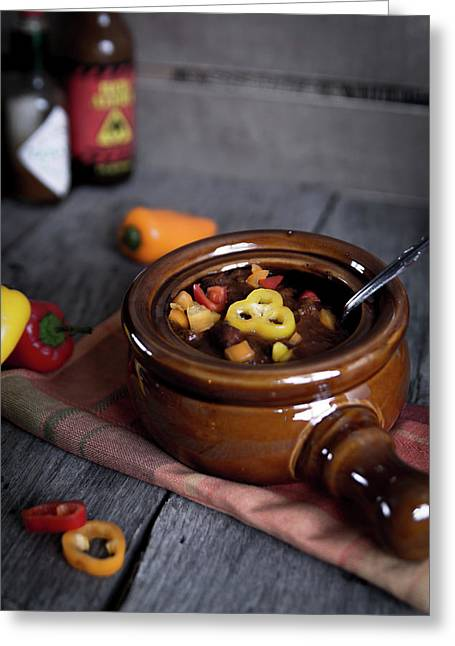 Firehouse Chili Greeting Card
