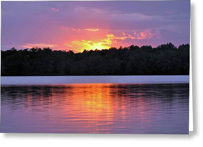 Greeting Card featuring the photograph Sunsets by Glenn Gordon