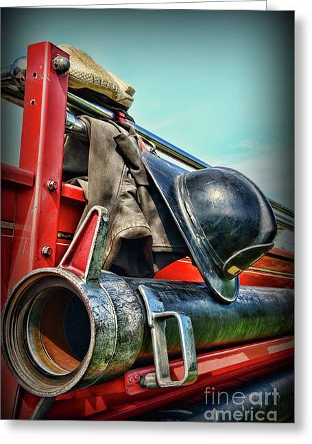 Fireman-we Are Always Ready  Greeting Card