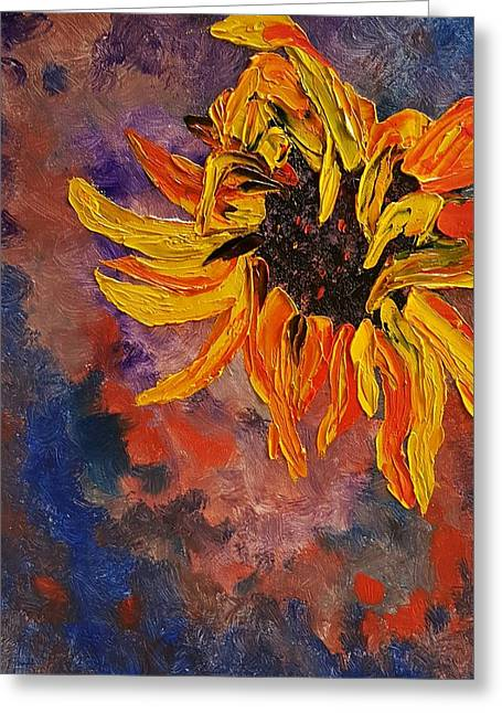Firespace Flower  27 Greeting Card