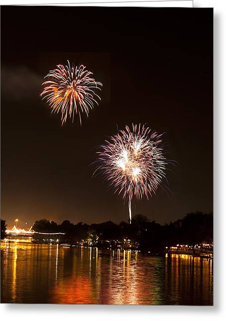 Firework Greeting Card by Ulrich Schade