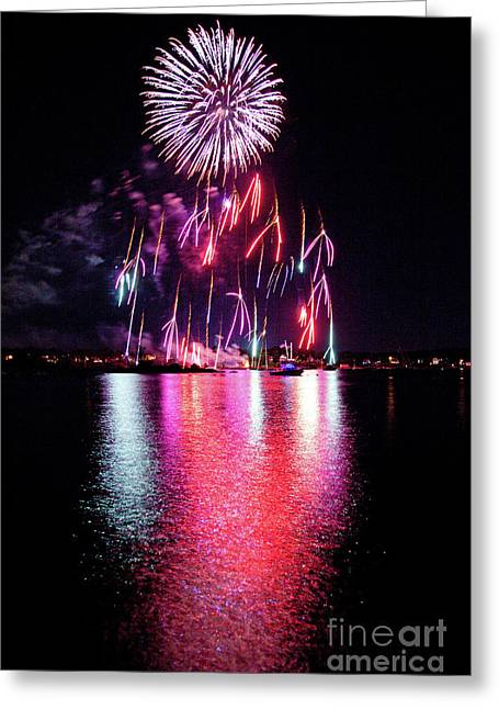 Fireworks 1 Greeting Card by Butch Lombardi
