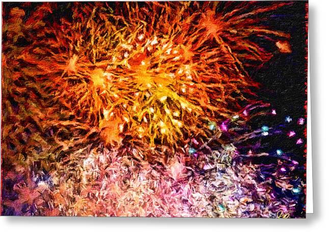 Fireworks 11 Greeting Card
