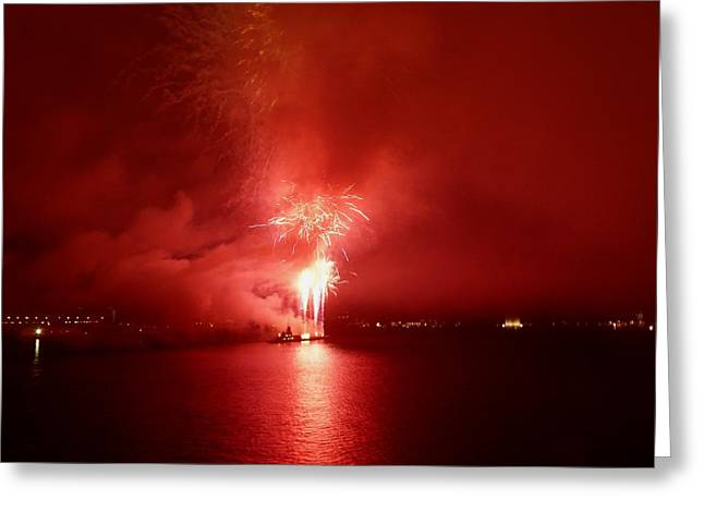 Fireworks 17 Greeting Card