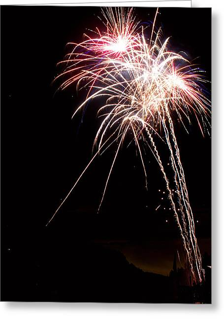 Fireworks 70 Greeting Card by James BO  Insogna