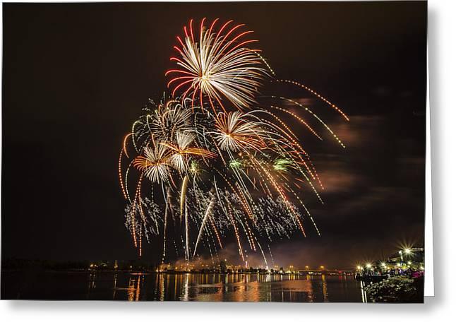 Fireworks - 8 Greeting Card