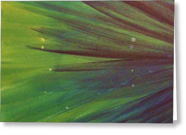 Fireworks IIi Greeting Card by Anna Villarreal Garbis