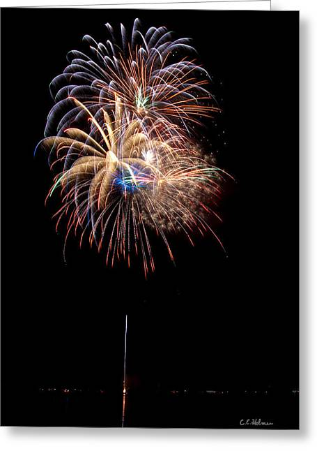 Fireworks IIi Greeting Card by Christopher Holmes