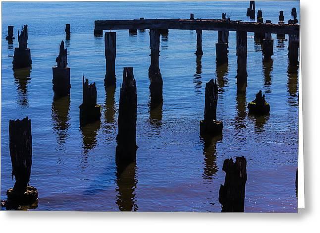 Firgotten Dock Greeting Card
