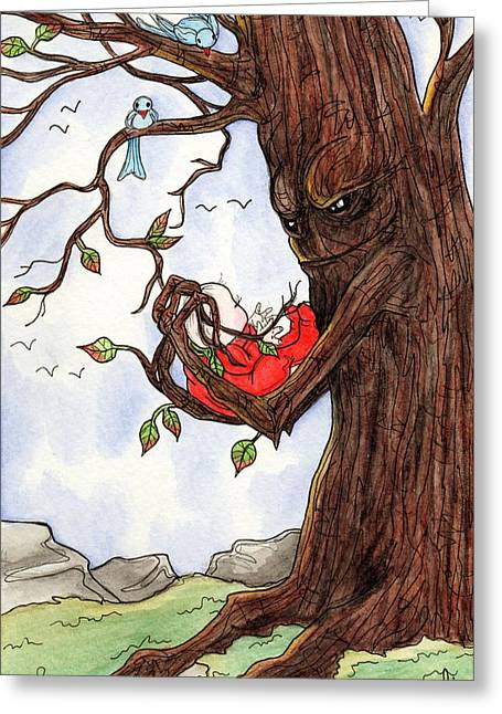 Firmly Rooted Greeting Card