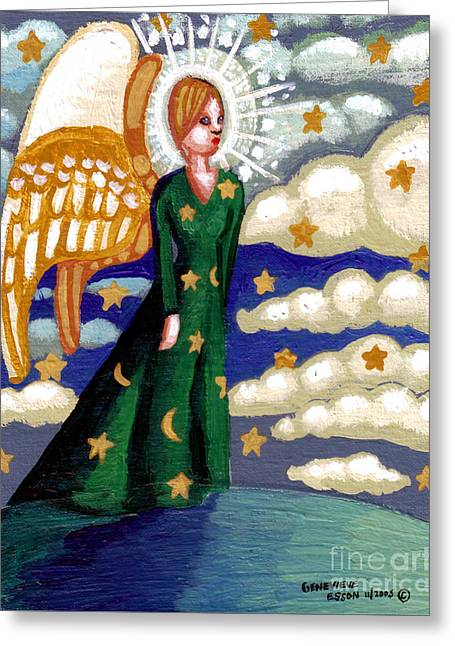 First Angel Greeting Card