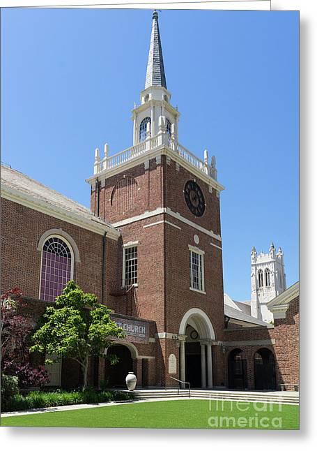 First Congregational Church Of Berkeley California Dsc6220 Greeting Card