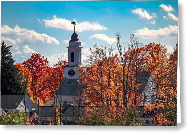 First Congregational Church Of Southampton Greeting Card