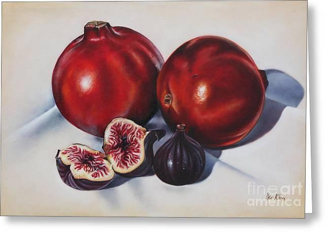 First Fruits II Greeting Card by Ilse Kleyn