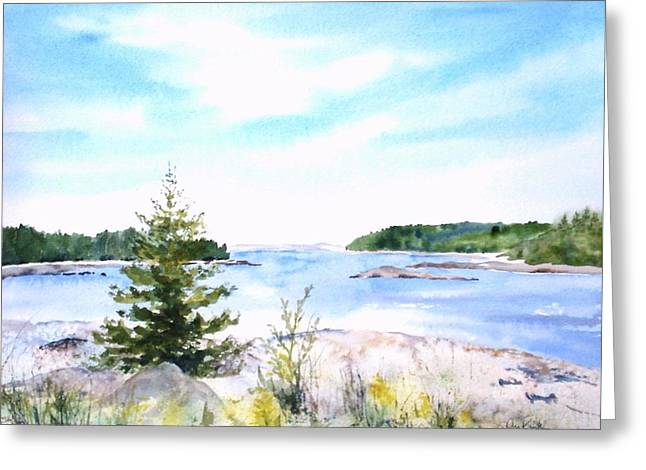 First Impressions, Maine Greeting Card