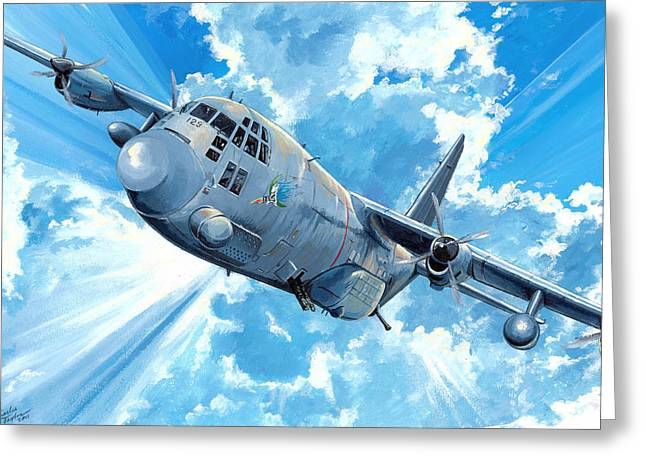 Ac130 Greeting Cards - First Lady Greeting Card by Charles Taylor