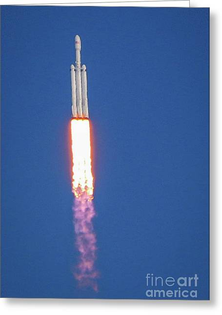 Greeting Card featuring the photograph First Launch by Tom Claud