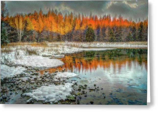 First Light At 3 Springs Greeting Card