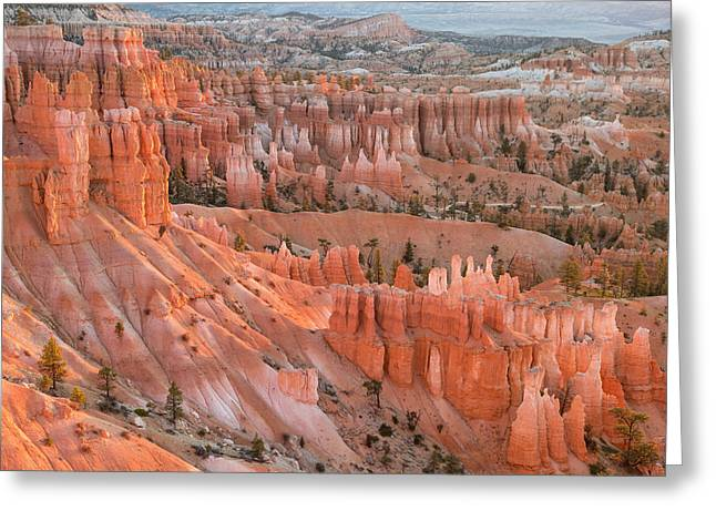 First Light, Bryce Canyon National Park Greeting Card