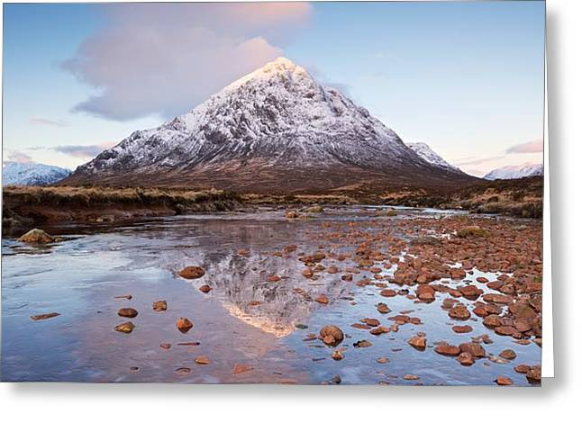 First Light In Glencoe Greeting Card