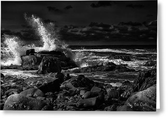 First Light - Kennebunkport Maine Greeting Card by Bob Orsillo