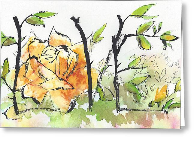 First Love 15 - Tangled Together Greeting Card by Faith Teel