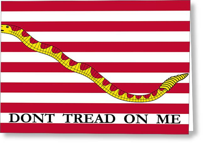 First Navy Jack Greeting Card