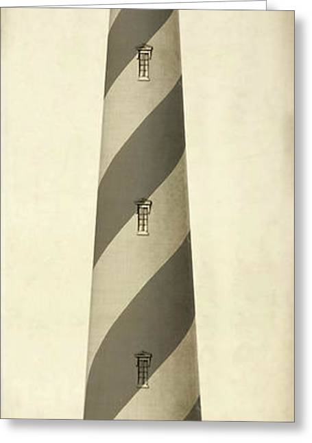 First Order Lighthouse For Cape Hatteras Greeting Card