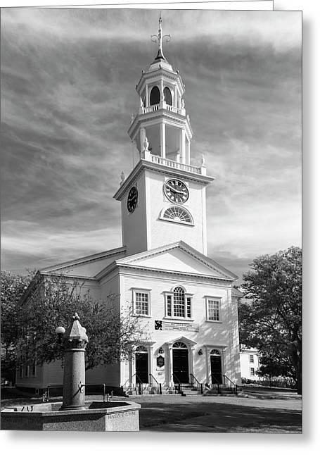 First Parish Church Greeting Card