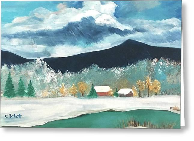 First Pennsylvania Snow Greeting Card