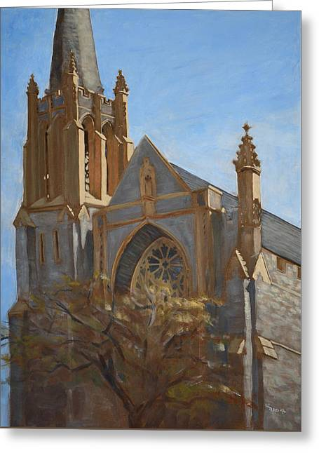 First Presbyterian Greeting Card by Christopher Reid