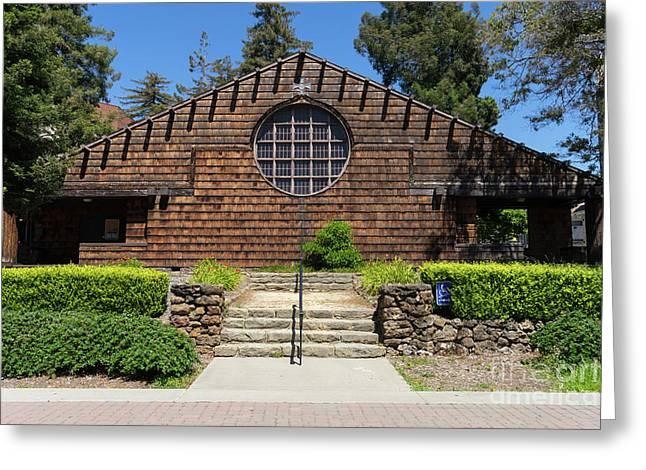 First Unitarian Church Now Bancroft Dance Studio At University Of California Berkeley Dsc6307 Greeting Card
