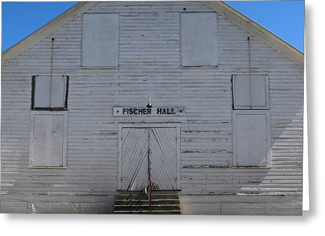 Fischer Dance Hall Greeting Card