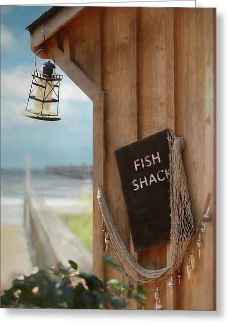 Greeting Card featuring the photograph Fish Fileted by Lori Deiter