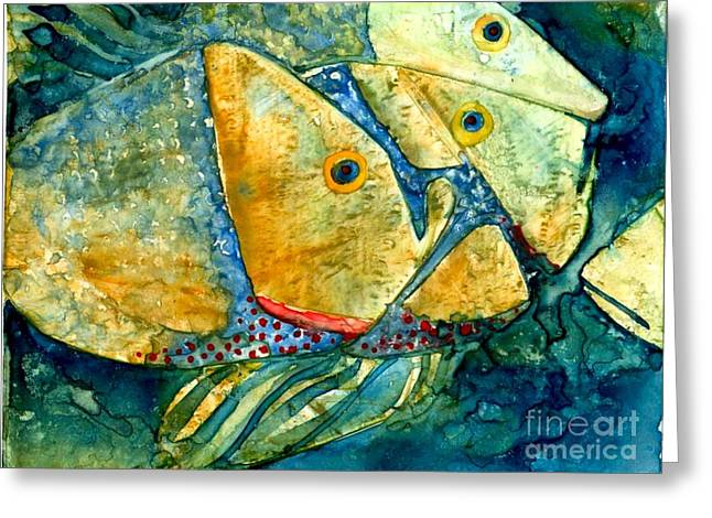 Fish Friends Greeting Card