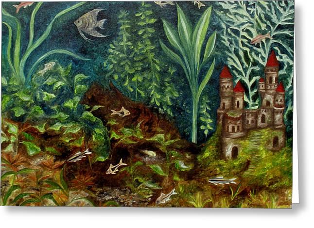 Fish Kingdom Greeting Card