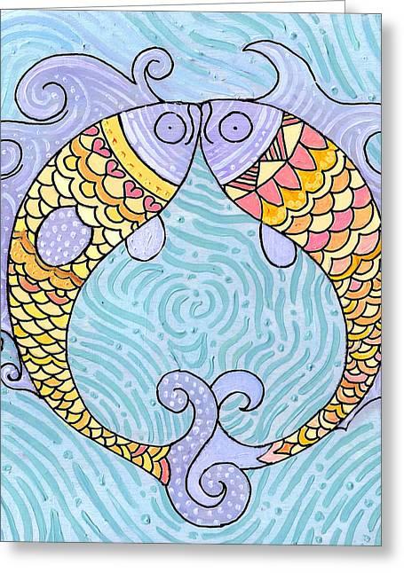 Fish Love Greeting Card